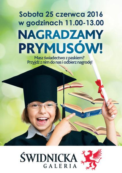 Nagradzamy Prymusów!